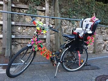 Fahrrad-feuerwehrfest
